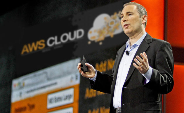 Amazon Web Services CEO Andy Jassy. (Amazon Photo)