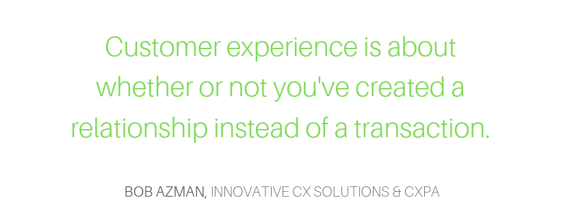 customer experience definition